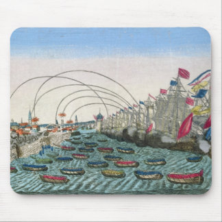 The Capture of Havana by the English in 1762 Mousepads