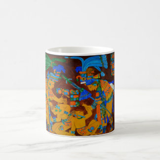 The Capture of Jeweled Blue Skull Coffee Mug