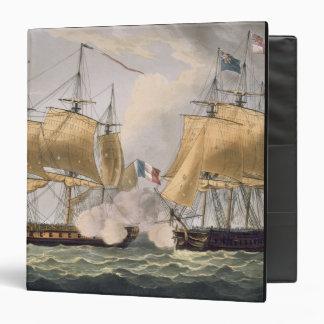The Capture of La Clorinde, February 26th 1814, en 3 Ring Binder