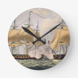 The Capture of La Clorinde, February 26th 1814, en Round Clock