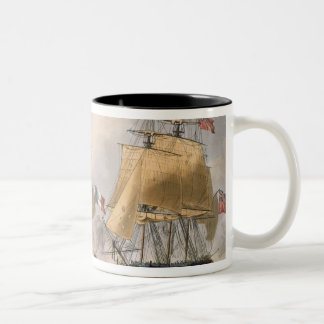 The Capture of La Clorinde, February 26th 1814, en Two-Tone Coffee Mug