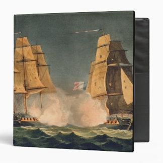 The Capture of La Nereide, December 21st 1797, eng 3 Ring Binder