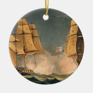 The Capture of La Nereide, December 21st 1797, eng Ceramic Ornament