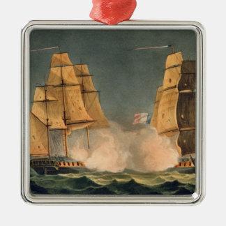 The Capture of La Nereide, December 21st 1797, eng Metal Ornament