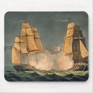 The Capture of La Nereide, December 21st 1797, eng Mouse Pad