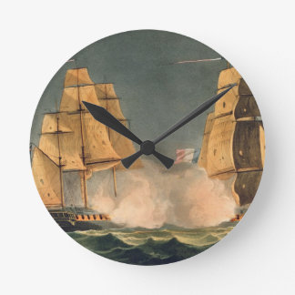 The Capture of La Nereide, December 21st 1797, eng Round Clock