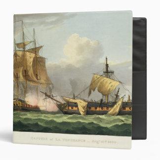 The Capture of La Vengeance, August 21st 1800, eng 3 Ring Binder