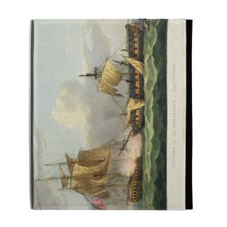 The Capture of La Vengeance, August 21st 1800, eng iPad Folio Cover