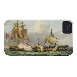 The Capture of La Vengeance, August 21st 1800, eng iPhone 4 Cover