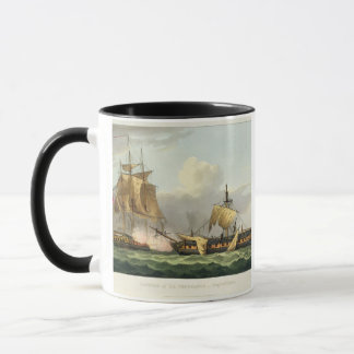 The Capture of La Vengeance, August 21st 1800, eng Mug