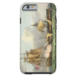 The Capture of La Vengeance, August 21st 1800, eng Tough iPhone 6 Case