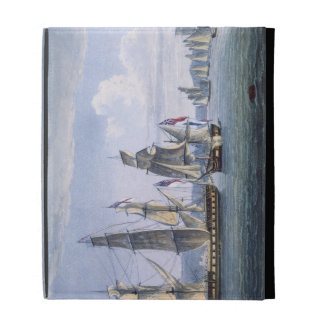 The Capture of Le Sparviere on 3rd May, 1810, engr iPad Cases
