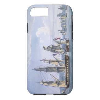 The Capture of Le Sparviere on 3rd May, 1810, engr iPhone 7 Case
