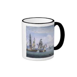 The Capture of Le Sparviere on 3rd May, 1810, engr Mug