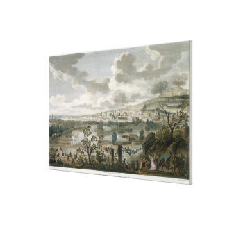 The Capture of Naples, 2 Pluviose, Year 7 (23 Janu Canvas Print