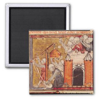 The Capture of Rouen, Grandes Chroniques de Fridge Magnets