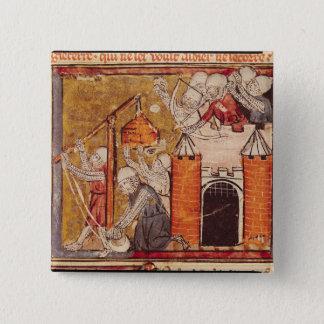 The Capture of Rouen, Grandes Chroniques de Pinback Button