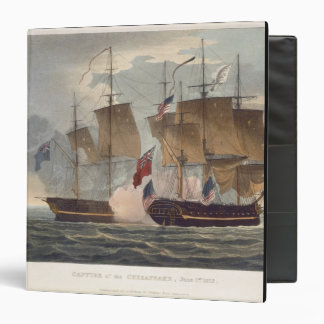 The Capture of the Chesapeake, June 1st 1813, engr Binder