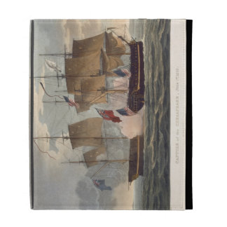 The Capture of the Chesapeake, June 1st 1813, engr iPad Case