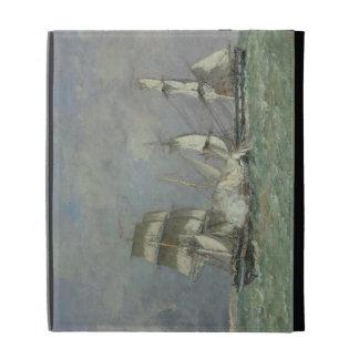The Capture of the 'Petit Rodeur', 1878 (oil on ca iPad Folio Cover