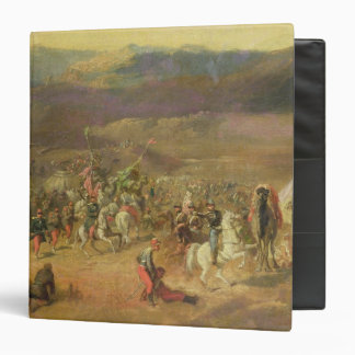 The Capture of the Retinue of Abd-el-Kader 3 Ring Binder