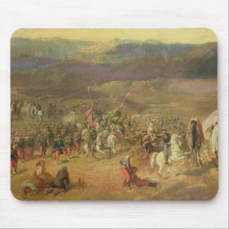 The Capture of the Retinue of Abd-el-Kader Mouse Pad