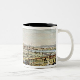 The Capture of Ulm, 17 October 1805, engraved by L Two-Tone Coffee Mug