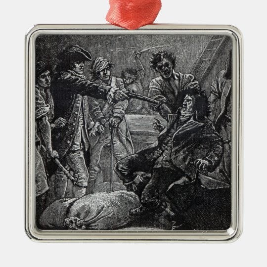 The Capture of Wolfe Tone in 1798 Metal Ornament