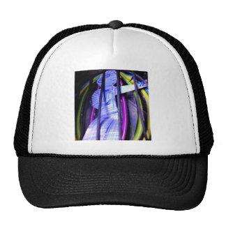 the captured to flower fairy trucker hat