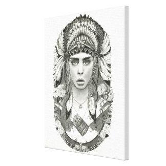 The Cara decorative canvas print