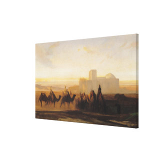 The Caravan Canvas Print