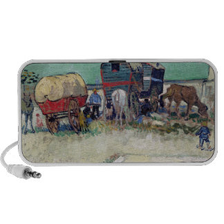The Caravans, Gypsy Encampment near Arles, 1888 iPhone Speaker