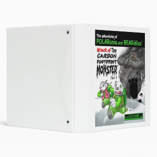 The Carbon Footprint Monster - Part 1 3 Ring Binder