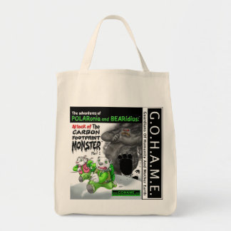 The Carbon Footprint Monster - Part 1 Tote Bag