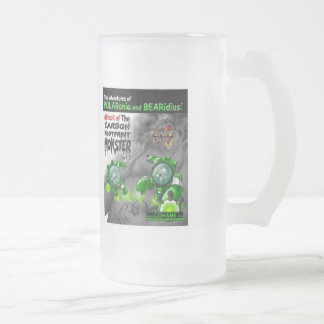 The Carbon Footprint Monster - Part 2 Frosted Glass Beer Mug