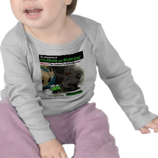 The Carbon Footprint Monster Tshirts