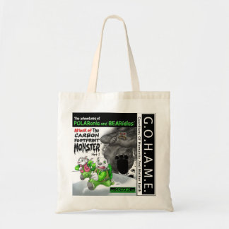 The Carbon Footrpint Monster - Part 1 Tote Bag