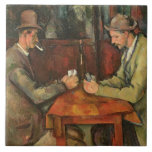 The Card Players, 1893-96 Ceramic Tiles