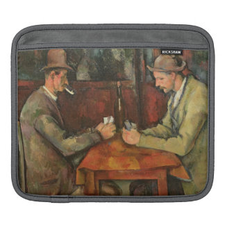 The Card Players, 1893-96 iPad Sleeves