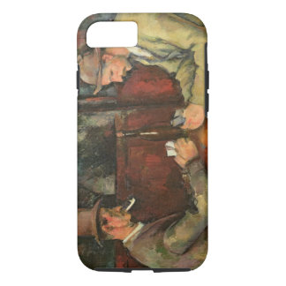 The Card Players, 1893-96 iPhone 8/7 Case