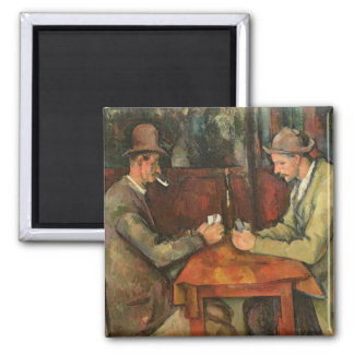 The Card Players, 1893-96 Refrigerator Magnet