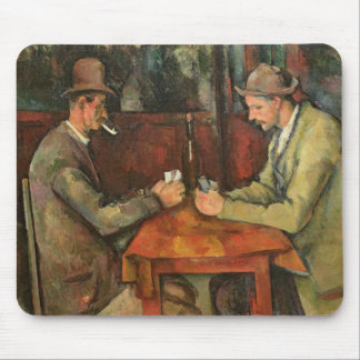 The Card Players, 1893-96 Mouse Pad