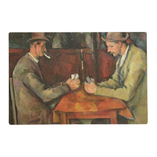 The Card Players, 1893-96 Placemat