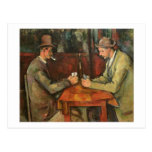 The Card Players, 1893-96 Postcard