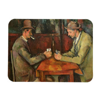 The Card Players, 1893-96 Flexible Magnets