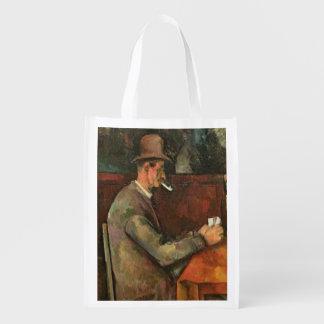 The Card Players, 1893-96 Reusable Grocery Bag