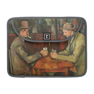 The Card Players, 1893-96 Sleeves For MacBook Pro