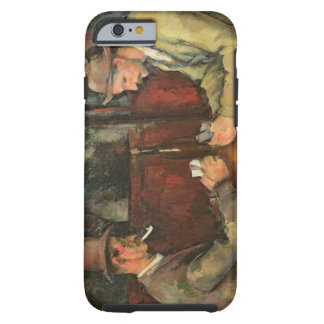 The Card Players, 1893-96 Tough iPhone 6 Case