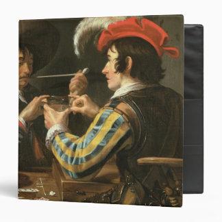 The Card Players Vinyl Binder