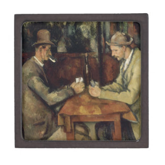 The Card Players by Paul Cézanne 1895 Gift Box